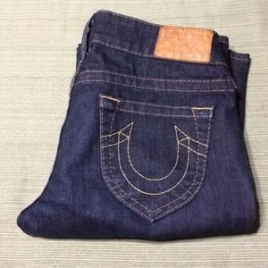 TRUE RELIGION BEAUTIFUL STRAIGHT JEANS EXCELLENT